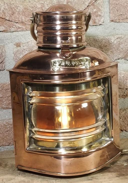 Made in Britain stuurboord scheepslamp