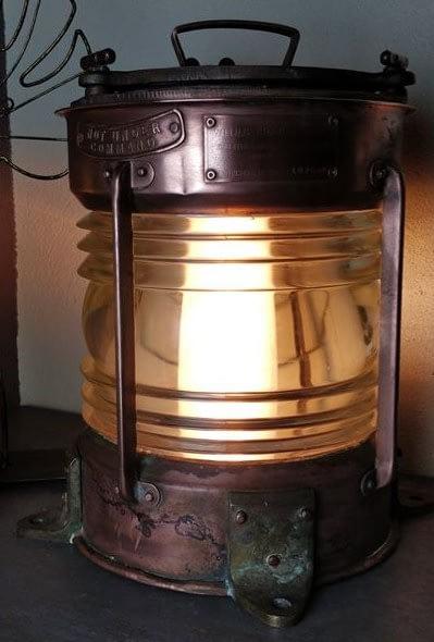 Toplicht ¨Not under command¨ van William Harvee uit Birmingham