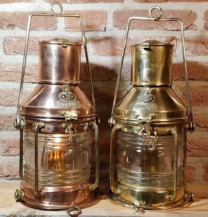 Scheepslampen geproduceerd door Neptune