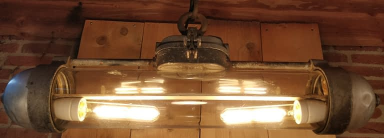Industriele bunker hanglamp