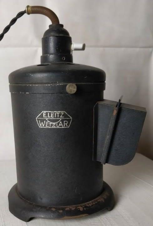 Zwart Leitz wetzlar laboratorium lamp