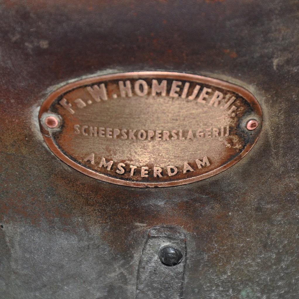Logo scheepslamp Homeijer