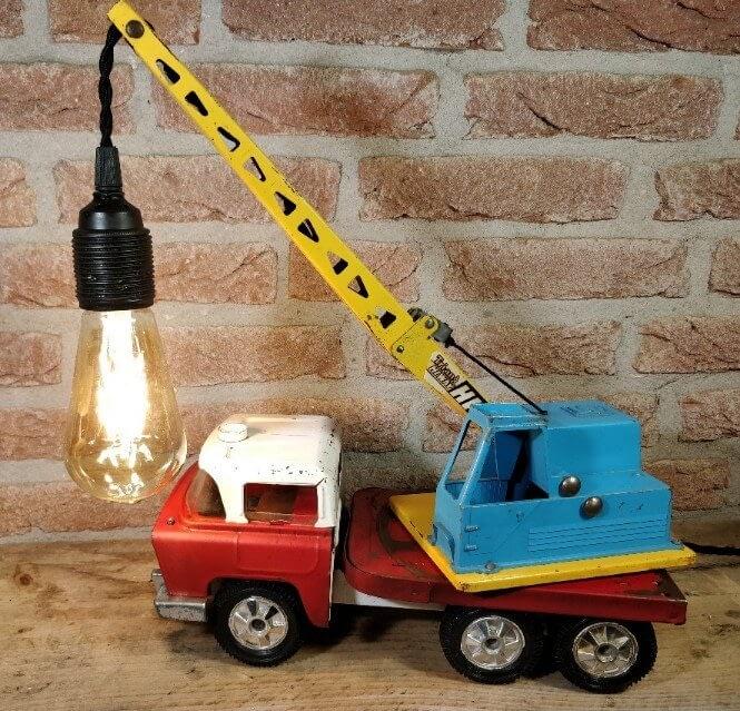 De Tri-Ang takelwagenlamp