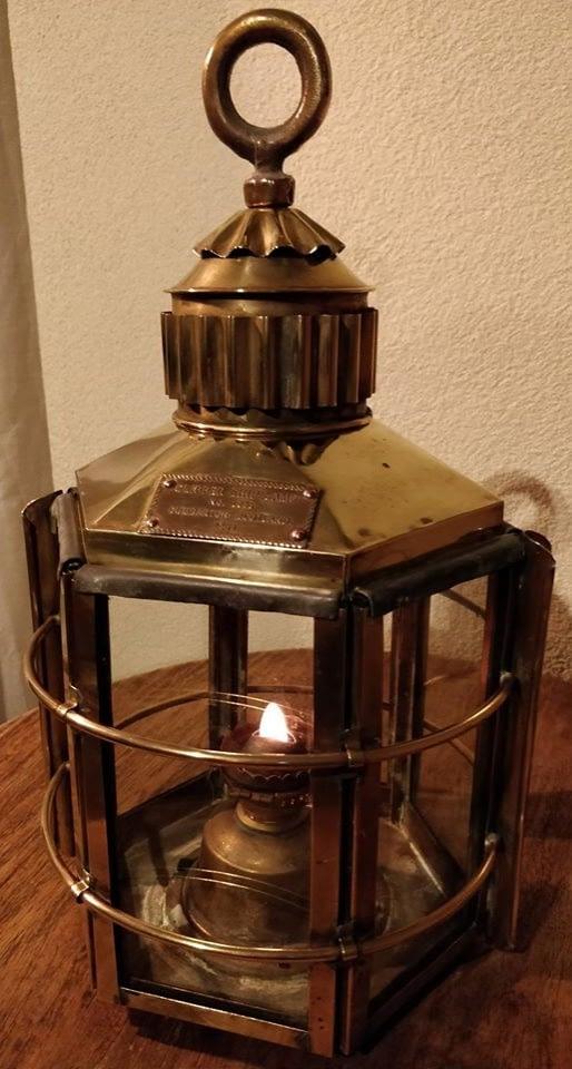 Decoratieve scheepslamp met de naam Clipper Ship Lamp No 1255