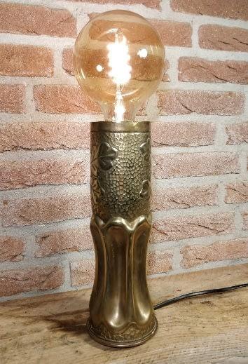 Prachtige lamp van huls