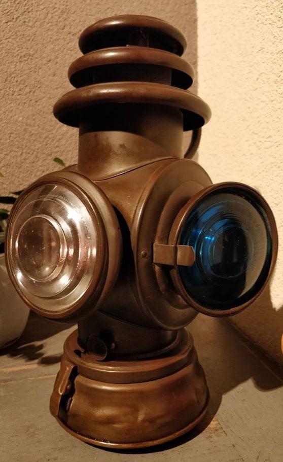 Gecombineerd toplicht met stuurboord en bakboord, van Dietz, afkomstig uit USA
