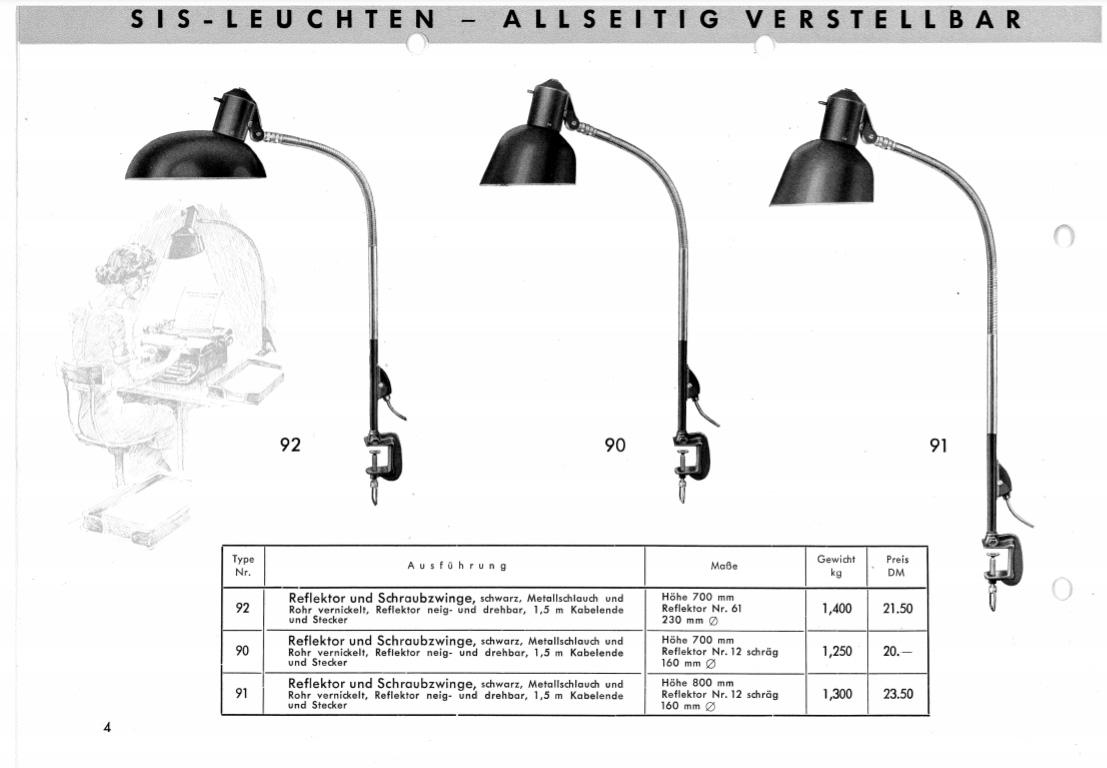 SIS-Licht model 90