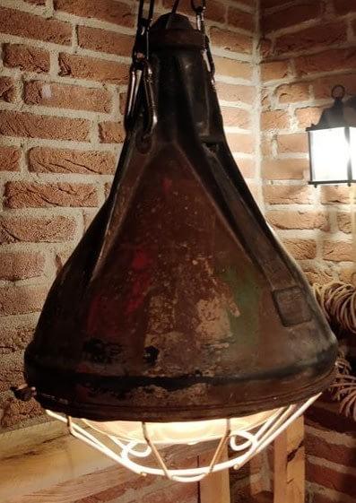 Brandende rubberen lamp van IN-LUX model 500