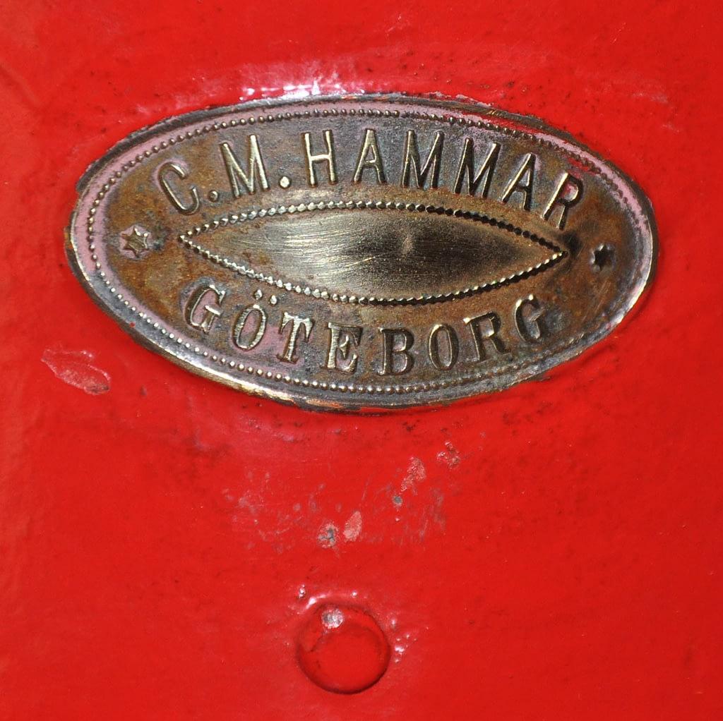 Scheepslamp logo Hammar