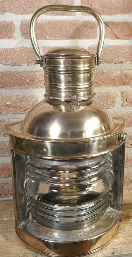 Stuurboord scheepslamp met Ciervo Barcelona in het glas