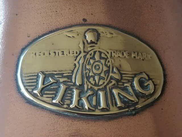 Viking scheepslamp logo