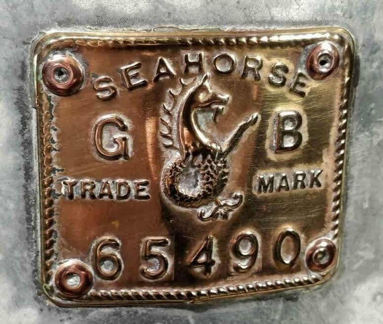 Seahorse trademark scheepslamp logo 65490