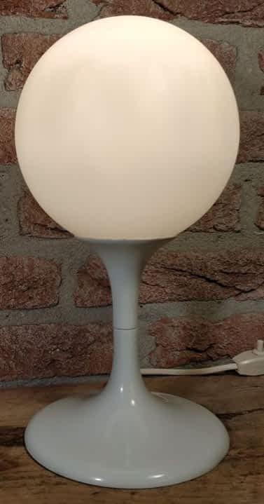 Tafellamp Space age ook erg leuk als nachtlamp