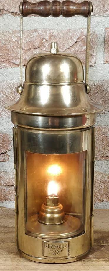replica kompaslamp welke bij een kompashuis hoort