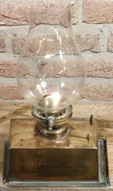 Trekglas bevestigt op de lonthouder